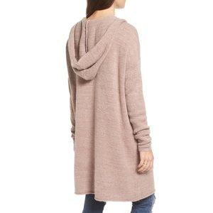 bp marled knit cardigan hoodie